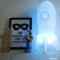 Rocket Lamp: stoer design voor de kinderkamer + WINACTIE