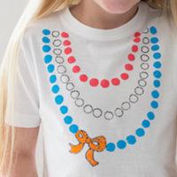 Zelf maken: Koningsdag T-shirt met schattige kralen