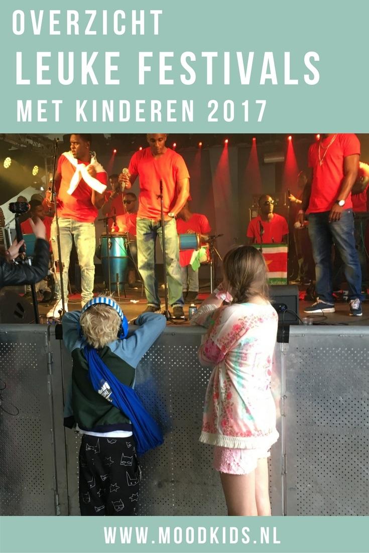 Hier vind je het handige overzicht leuke festivals met kinderen 2017 van MoodKids. Kindvriendelijke festivals die je met je gezin bezoekt. Kinderen blij, wij blij! ;)