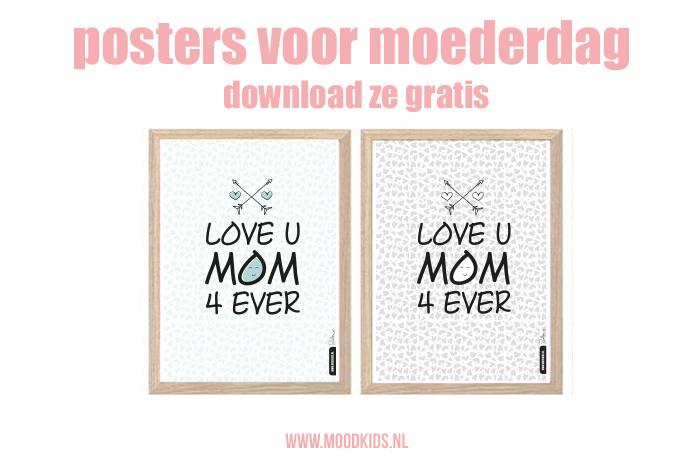 Jaarlijks publiceren we een leuke gratis poster voor moederdag. Roelina maakte dit jaar zelfs 3 varianten. Zowel in kleur als in zwart-wit. Bekijk ze hier allemaal en downloaden die gratis printable maar!