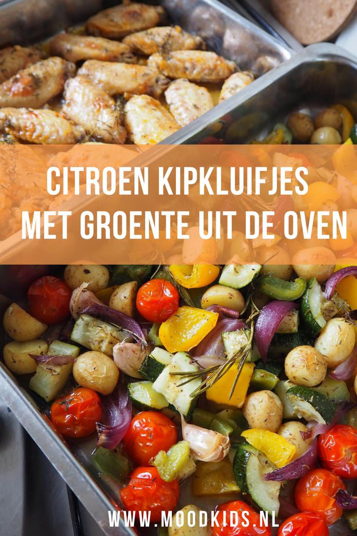 Dit recept van citroen kipkluifjes, krieltjes en groente maak je makkelijk vooraf klaar. Geniet van de zomerdag en laat de oven vervolgens het werk doen. Lekker recept voor je gezin.