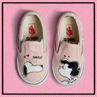 Vans en Snoopy fans opgelet. Deze zijn echt te cute!