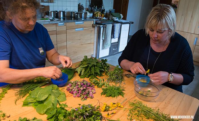 In Oostenrijk leerde ik dit receptje. Niet ingewikkeld, maar voor mij wel nieuw: koken met kruiden uit de weide. Roomkaas met kruiden en bloemen is echt heerlijk. Je vindt het recept hier.