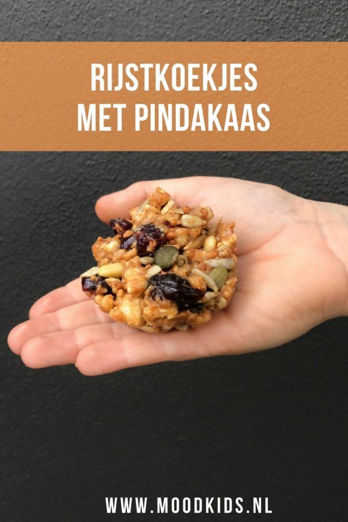Ben je fan van pindakaas? Dan is koken met pindakaas een mooie aanvulling. Het Pindakaas kookboek is erg leuk! Wij maakten de rijstrepen eh koekjes. Bekijk het recept hier.