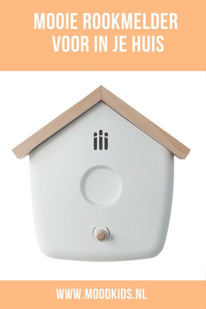 De Flow rookmelder is een strakke en mooie rookmelder voor in je huis. Je kan het vogelhuisje aan de muur of plafond hangen. Bekijk ze hier.