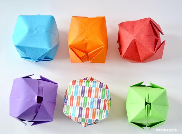Waterballonnen Maken Van Papier