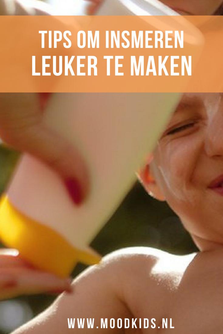 kinderen beschermen tegen de zon en goed insmeren is absoluut noodzakelijke. Lees de tips van dermatologen om insmeren met zonnenbrand leuker t e maken voor kinderen
