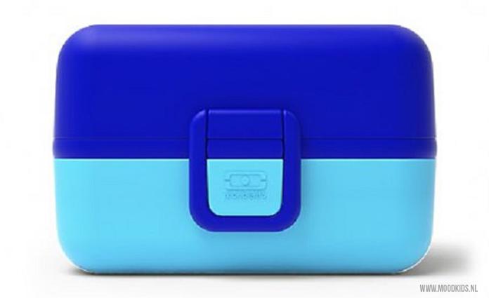 Lunchtrommel Mon Bento Tresor blauw van webshop Roppongi