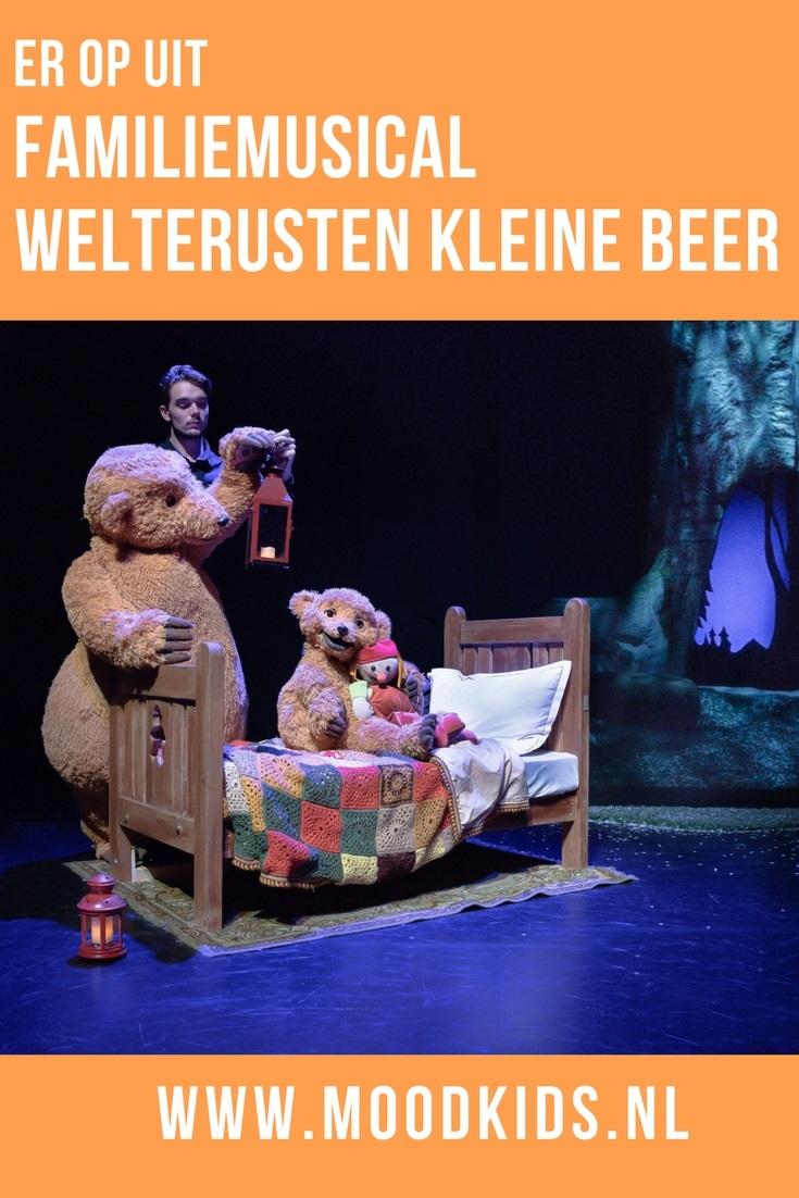 Namens MoodKids bezocht Suzanne met zoon en dochter de première van musical Welterusten kleine beer van theater Terra. Haar review lees je hier.