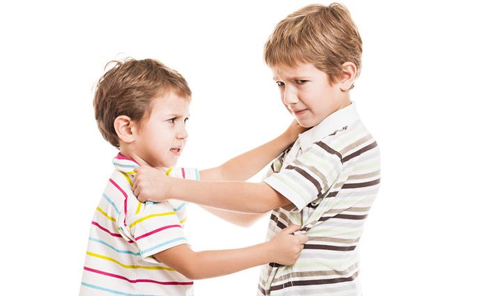 Slaan, schoppen, zelfs bijten zijn in ons huis met 2 jongens meer regel dan uitzondering. Onze peuter en dreumes vliegens elkaar in de haren. Continue...