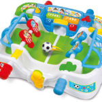 Voor alle voetbalvaders: het interactieve voetbalspel van Clementoni