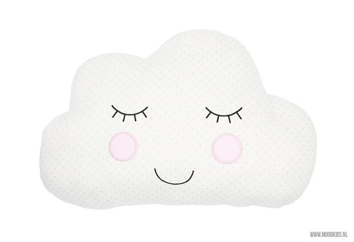 Wolken kussen van webshop Kids Decoshop