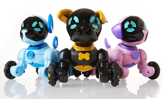 Ken je de Chippies, de speelgoed robot puppies van WowWee al? Deze drie robot honden kun je besturen met een afstandsbediening en hebben sensoren. Zo leuk! Lees hier onze review.