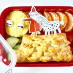 Roppongi's Sint lunchtrommel: Sinterklaas-op-het-dak-bento