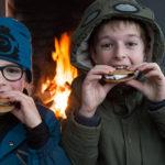 Winter wonderland: samen genieten van Nutella s'mores