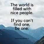Een betere wereld begint bij jezelf! Word een Raktivist!