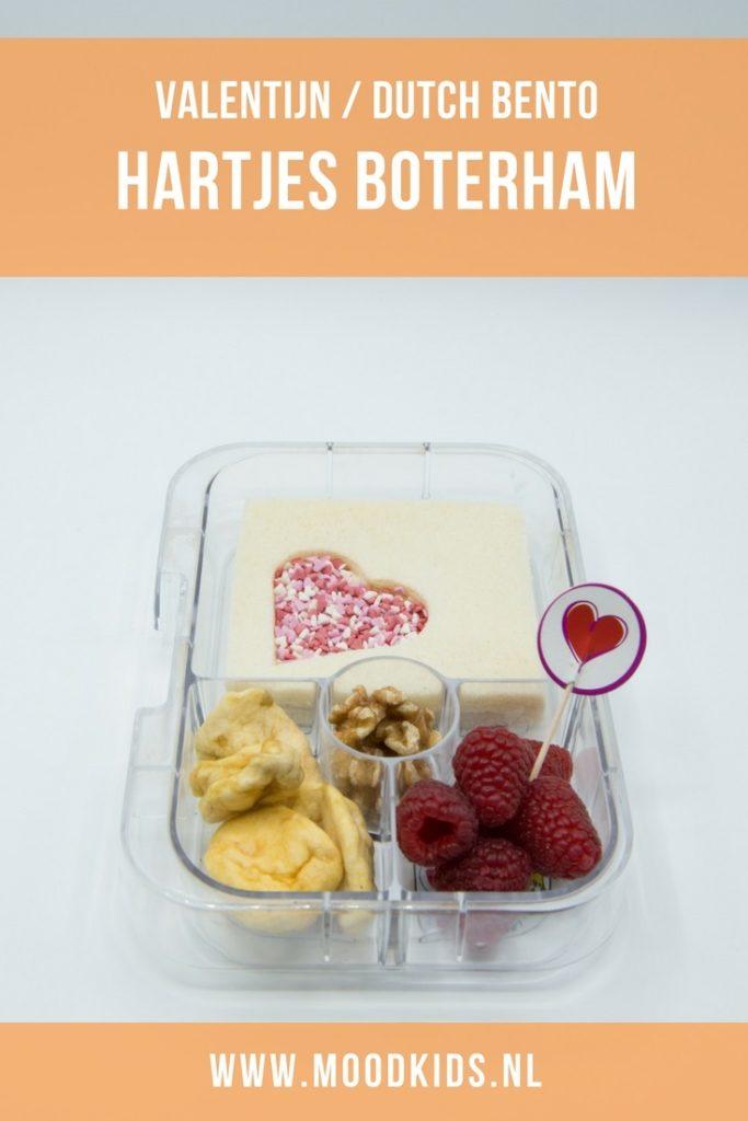 Echt wat aan Valentijn doen we hier thuis niet. Maar een leuke, liefdevolle Valentijns lunch is natuurlijk wel leuk!Deze lekkere boterham maak je in een handomdraai met heel veel liefde! En je kind of je lief smullen ervan!