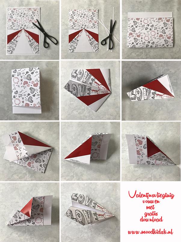 Met Valentijnsdag voor de deur bedacht Roelina een leuk vliegtuigje. Een Valentijn vliegtuigje waar je een speciale, persoonlijke boodschap voor jouw Valentijn op kunt schrijven. Je kunt hier 2 versies gratis downloaden. Eén in zwart/wit om zelf in te kleuren en een gekleurde.