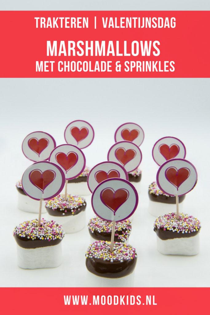 Valentijnsdag is de dag waarop je je liefde of degene die je lief hebt in het zonnetje zet. Met iets liefs en kleins. Iets wat je zelf hebt gemaakt.Of maak iets lekker zoets voor de echte zoetekauw.Deze super makkelijke marshmallows met chocolade zien er schattig uit en zijn eenvoudig te maken.