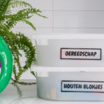 Is jouw huis veilig? + leuke DIY voor transparante etiketten