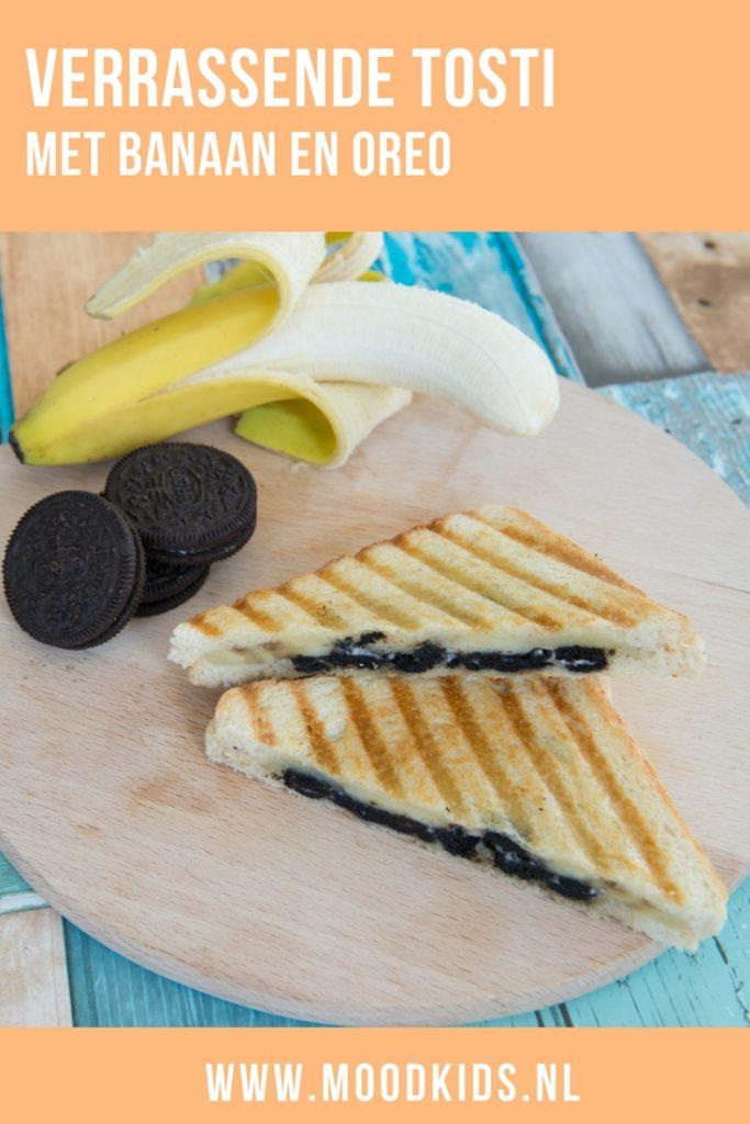 Ooit gedacht aan de combinatie van banaan met Oreo op een tosti? Echt verrukkelijk! Lees hier het recept.