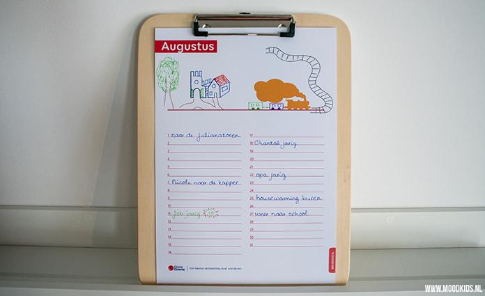 gratis kalender, verjaardagskalender, gratis maandkalender, tekenen, creatief, agenda, kalender, kind, familie, verjaardag