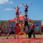 Bravoure van Cirque Moustache + circus workshops