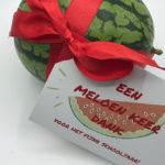 Meloen keer dank voor de juf of meester (+gratis printable)