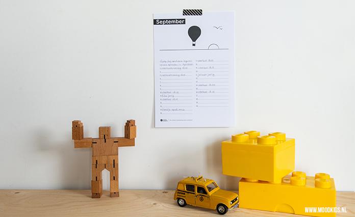 Ben je op zoek naar een gratis kalender printable? We hebben samen met CliniClowns een kalender ontwikkeld die je in zwart-wit of kleur kunt printen.