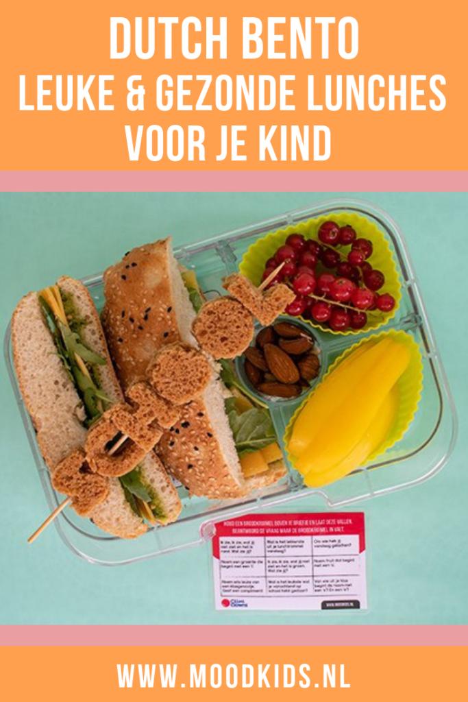 Geef je kinderen een gezonde lunch mee naar school in de broodtrommel. Met deze tips van Dutch Bento #broodtrommel #schoollunch #dutchbento