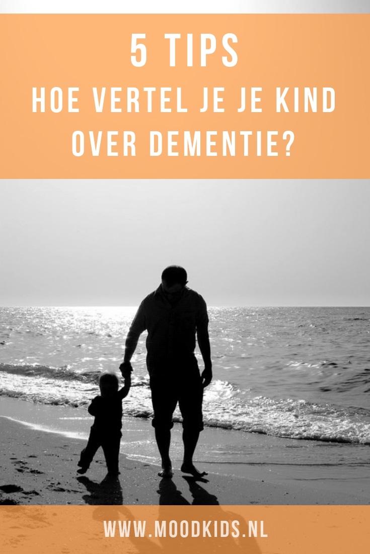 Als een (groot)ouder de diagnose dementie krijgt, is dat heftig. Hoe ga je (klein) kinderen informeren over dementie? In dit artikel lees je tips. #dementie