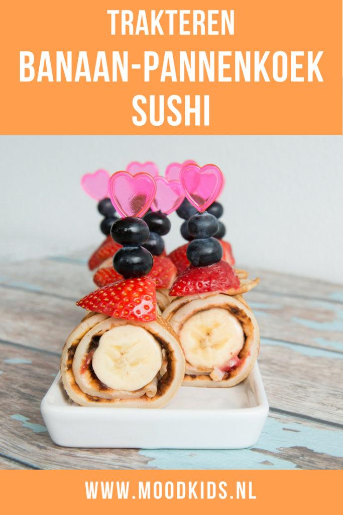 Verbazingwekkend Banaan pannenkoek sushi trakteren | MoodKids NL-73