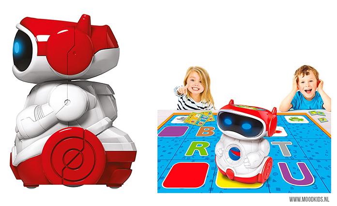 Met Clementoni Doc Robot leer je je kinderen programmeren. #robot #robotica #techniek