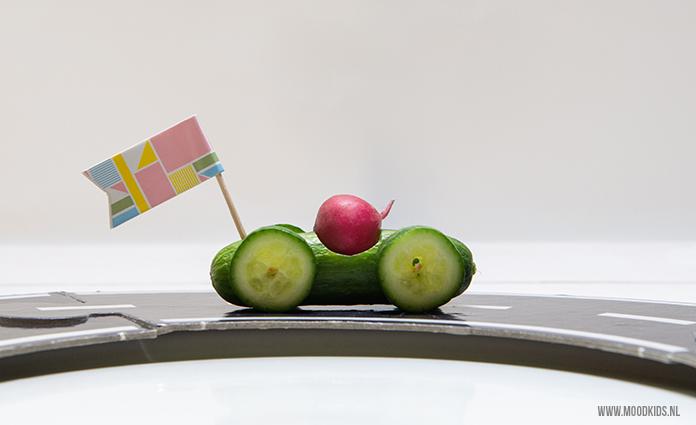 Trakteer eens op een komkommer auto. #gezond #kids #traktatie