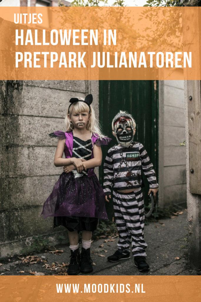 Ben je op zoek naar een leuk pretpark voor kleine kinderen? Julianatoren is een aanrader. In de herfstvakantie is er een halloween programma.