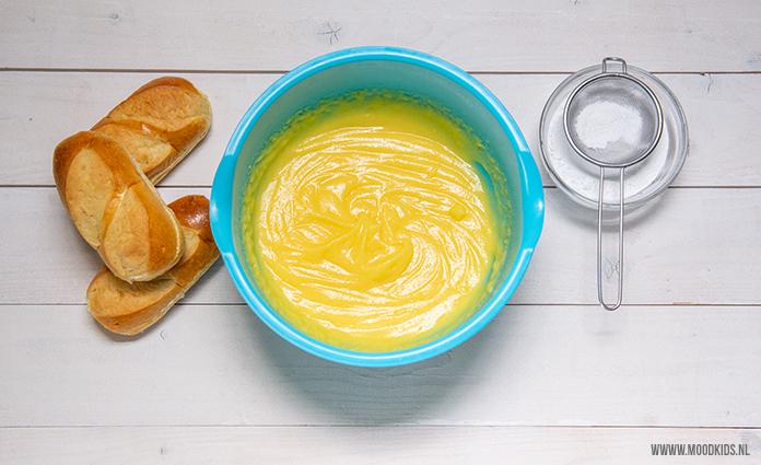 ingrediënten voor puddingbroodjes