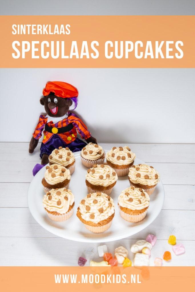 Lekker voor pakjesavond! Cupcakes met speculaas topping. Brenda laat je stap voor stap zien hoe je ze maakt. #sinterklaas #cupcakes #bakken