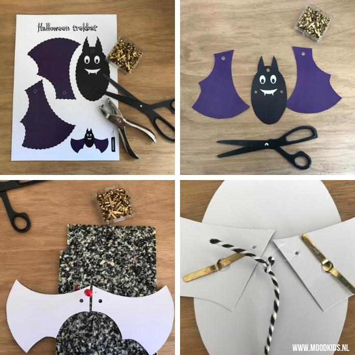 Ook zo gek op Halloween? En houd je ook van knutselen? Dan hebben we iets leuks! We hebben 4 Halloween trekpoppen voor je. Met stap voor stap uitleg!
