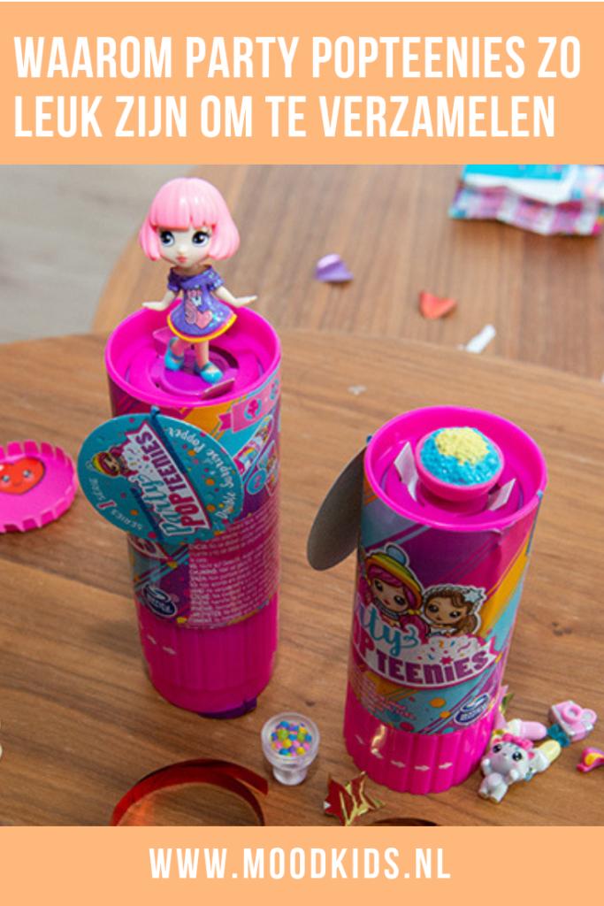 Party Popteenies zijn de nieuwe verzameltrend onder kinderen. Je verzameling popt letterlijk eruit. Sophie (10) laat ons zien hoe het werkt. #speelgoed #partypopteens