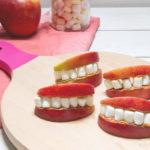 Met een mond vol tanden