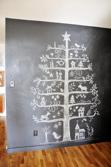 Geen zin in een kerstboom? Deze alternatieve kerstboom is wellicht wel wat voor jou!