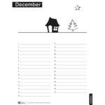 De maandkalender december staat voor je klaar!