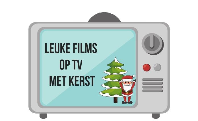 tv met kerst