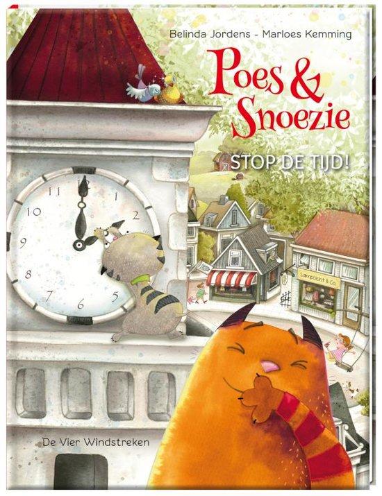 Poes en Snoezie zijn dikke vrienden en toch best verschillend. Maar kattenkwaad uithalen kunnen ze samen als de beste. Mooi geïllustreerd prentenboek.