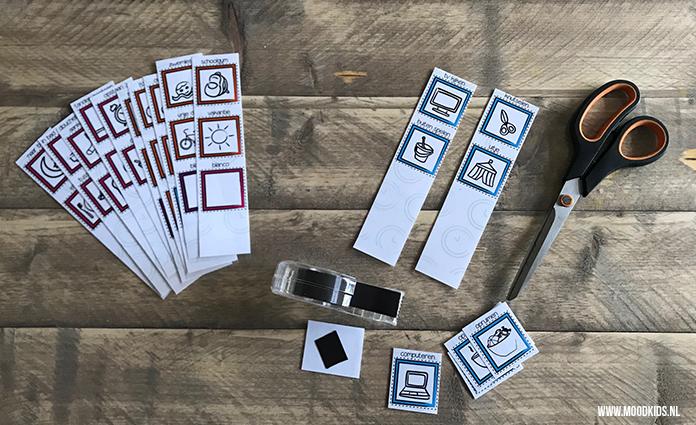 Een planbord voor het gezin? Of liever één voor je kinderen? Met dit gratis planbord geef je je kinderen meer structuur en inzicht ten aanzien van de weekplanning.