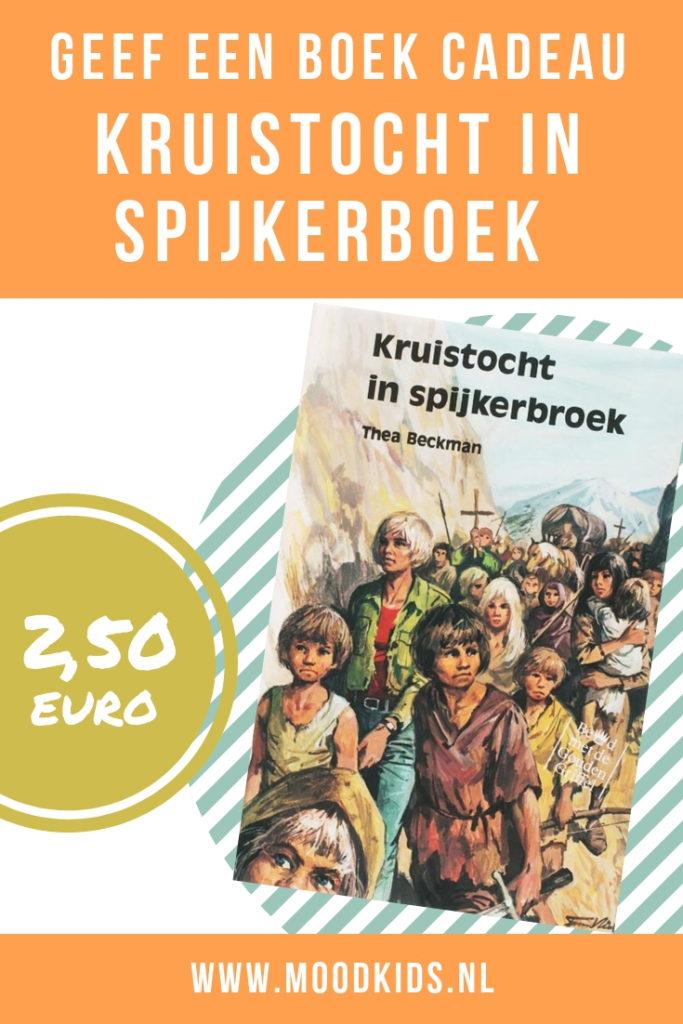 Jaarlijks wordt er tijdens de campagne 'Geef een boek cadeau' een boek geselecteerd door de boekenbranche. Voor 2,50 euro kun je dit boek nu kopen.