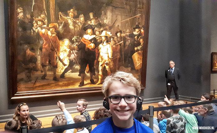 Rembrandt, Nachtwacht, Rijksmuseum, familiespel