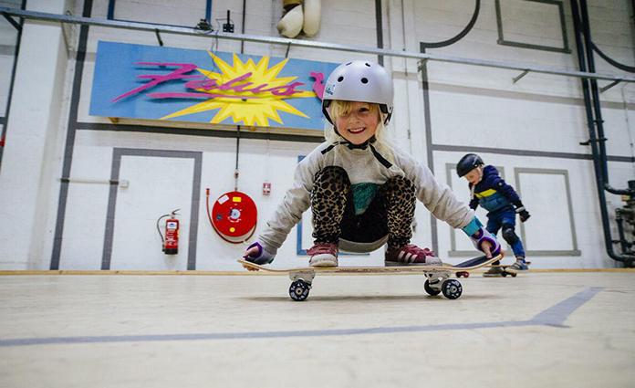 Wat wil jij later worden als je groot bent? Zoë skateboarder!