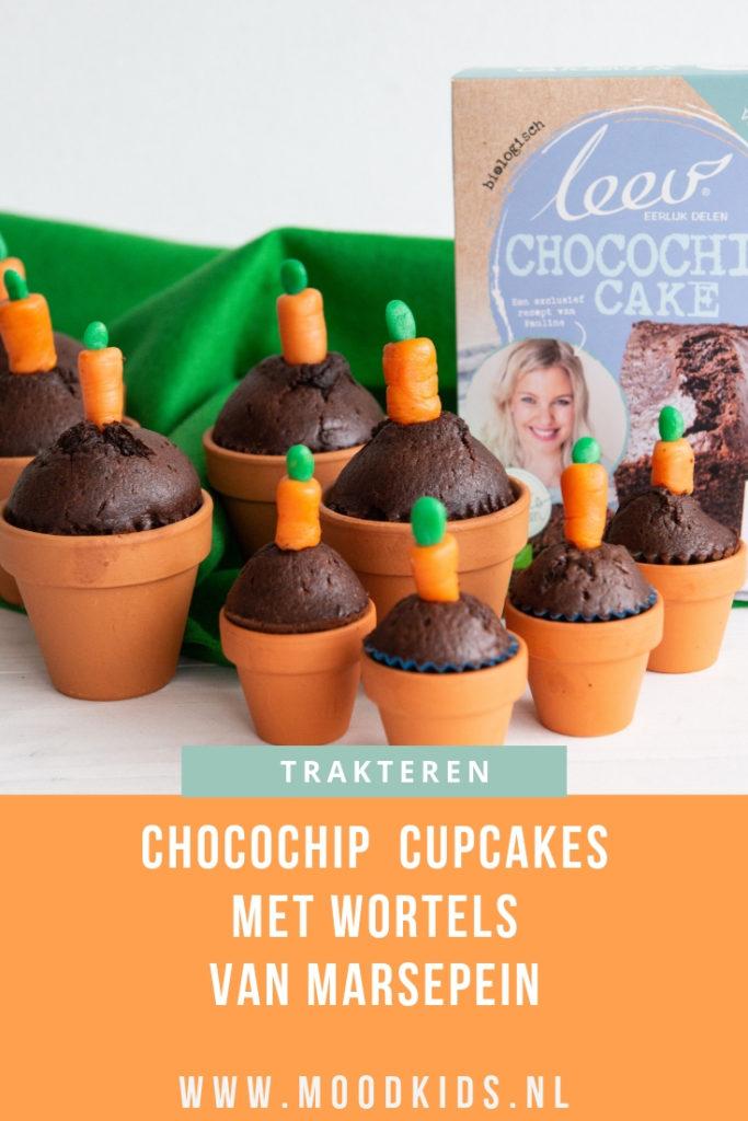 chocochip cupcakes traktatie
