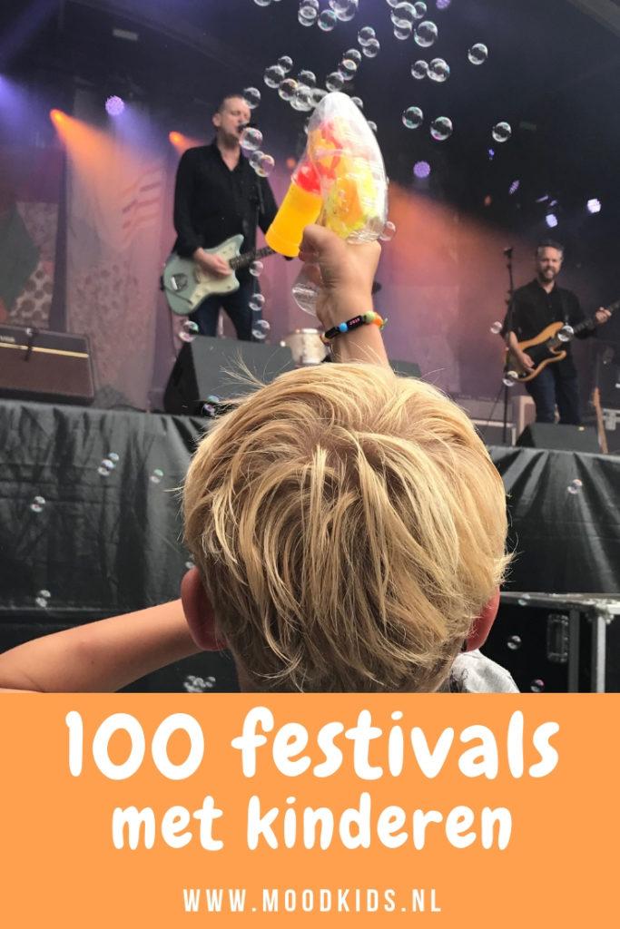 Bekijk ons jaarlijkse overzicht met de leukste festivals met kinderen. Inmiddels alweer voor de 5e keer en met >100 toffe festivals met het gezin.